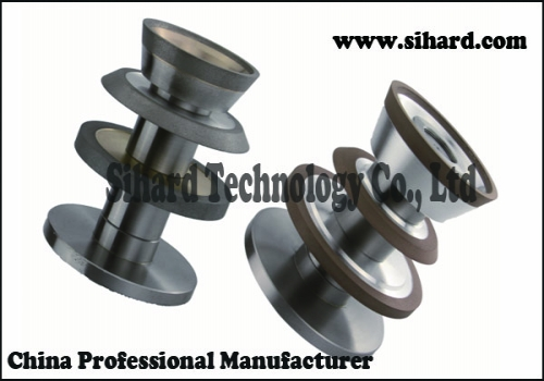 Diamond Grinding Wheels Used for CNC Fluting from China Sihard Manufacturer